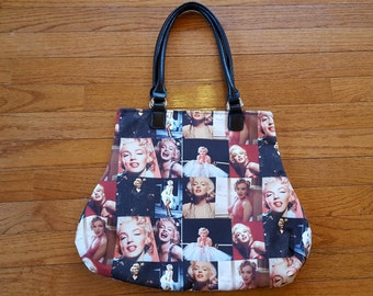 Marilyn Monroe Fabric Handbag Designer Fabric Bag