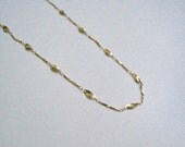 Reserved for S: gold chain 18 inches