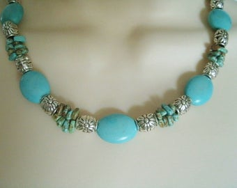 Turquoise Necklace, southwestern jewelry southwest jewelry turquoise jewelry native american jewelry style country western cowgirl rodeo