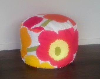 MARIMEKKO: 1 Large Multi Colours Pouffe/Ottoman