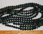 Bloodstone - 8mm bead strand