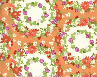 Michael Miller Strawberry Moon by Sandi Henderson Clover Crown fabric - 1 yard
