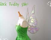 Black Friday Sale Tinkerbell LIGHT GREEN wings Fairy wings Costume Cosplay