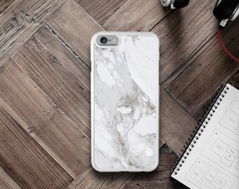Personalised Marble iPhone Case - iPhone 7 Case, iPhone 7 Plus Case, iPhone 6/6S Case, iPhone 6/6S Plus Case, iPhone 5/5S/5C Case