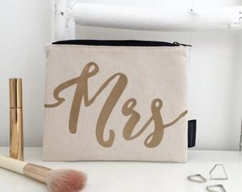 Mrs Make Up Bag