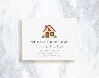 Moving Announcements // Little Cottage