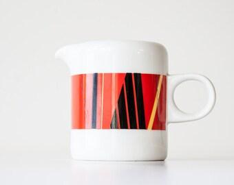 Vintage 1980s Studio Nova - Jazz Red - Modern Creamer