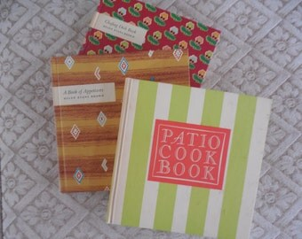 Vintage Cook Books by Helen Evens Brown  set of 3