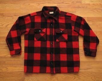 mens vintage G. Fox and Co. buffalo check shirt