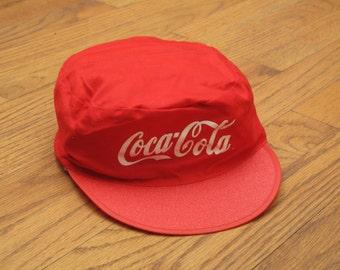 vintage Coca Cola painters cap