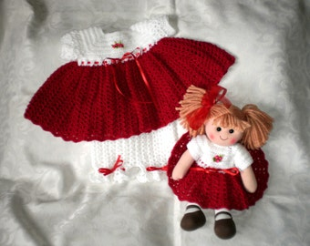 Molly and Me Dress Set and Doll for 12 Months