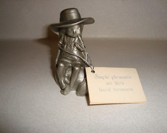 Vintage Holly Hobbie Pewter