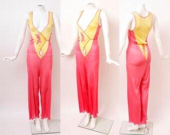 1930s Rayon Beach Pajamas