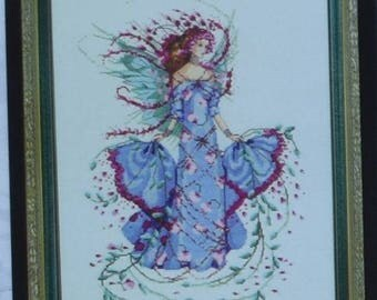 October Opal Fairy - by Nora Corbett – Mirabilia Designs Chart MD132