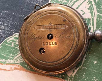 Vintage Non Working Partial Pocket Watch