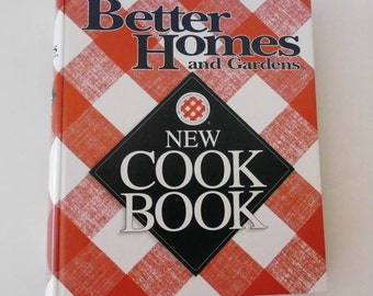 Cookbook Better Homes and Gardens 1996 NEW Cook Book 5 ring tabbed index like new Vintage Cookbook