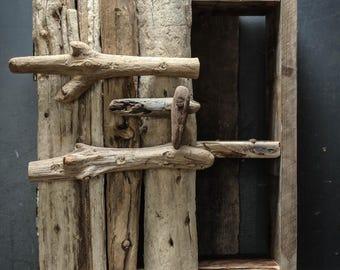 Driftwood Wall Cabinet,Driftwood Bathroom Cabinet,Drift Wood Bathroom Cabinet, Beach Cabinet,Coastal Decor,Beach hut style,Coastal ineterior