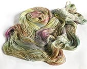 Shimmering Moonbeams. Morrigan Mulberry Silk Lace.
