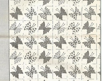 Vintage Mail Order Butterfly Quilt Pattern Design 527