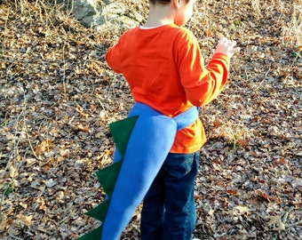 Dinosaur tail - dinosaur dress up - dragon tail - monster tail - dinosaur costume - dinosaur birthday ideas - gifts for boys - gift for kids