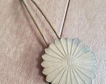 Vintage Metal Decorative Hair Pin Decorative Ladies Hair Accessory Brass