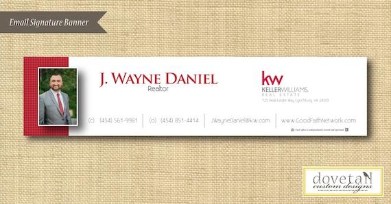 email signature banner