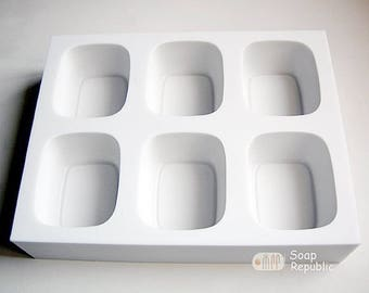 SoapRepublic Minimalist Series M2  / 6 in 1 / Silicone Soap Mold