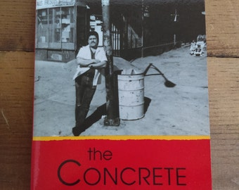 The Concrete River by Luis Rodriguez Signed Paperback