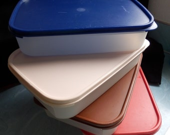 Vintage Tupperware - YOU CHOOSE ONE - Modular Mates  (1 container + lid)