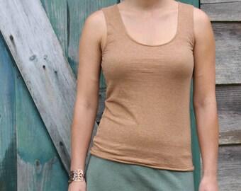 Simplicity Tank- Organic Hemp and Cotton Jersey