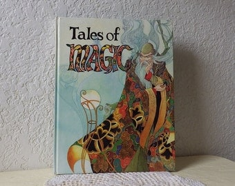 Children's Book: Tales of Magic, Checkerboard Press, 1983. Like New.