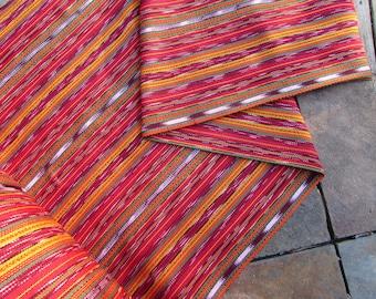 Guatemalan Fabric in Lightweight Gypsy Red Stripe