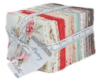 Poetry - Fat Quarter Bundle by 3 Sisters for Moda Fabrics