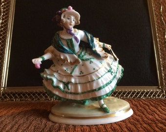 Karl Ens Lady Figurine