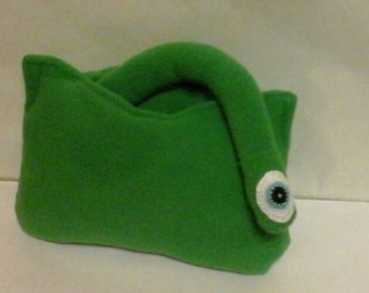 Handmade soft toy the Problem Blob, large, safe for all ages, inspired by the Numberjacks characters.