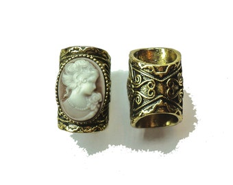 SALE: XXL arwen renaissance baroque  dread beads