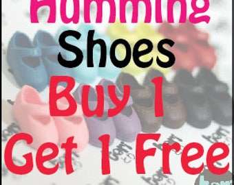 Buy 1 Get 1 Free Blythe Humming shoes