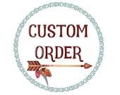 Custom Order for Natasha
