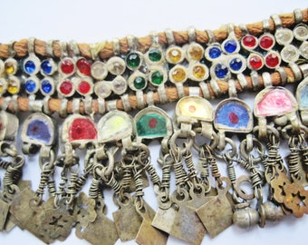 Pakistani Necklace Multicolored Ethnic Asian Jewelry