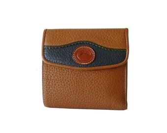 Dooney & Bourke Teton British Tan AWL Wallet
