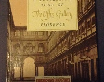 Vintage Colorslide Book, The Uffizi Gallery (Florence), 1960
