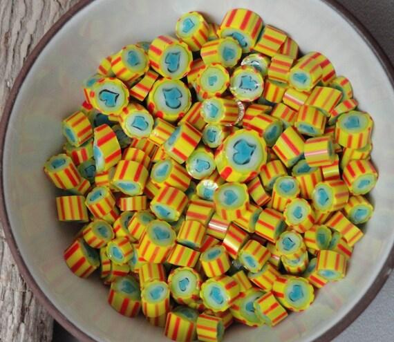 Basket Weaving Supplies Sacramento : Murrini chips hearts on fire lampwork supplies coe