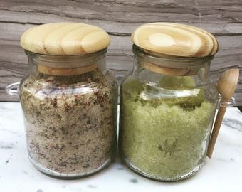 Custom Sugar Scrubs