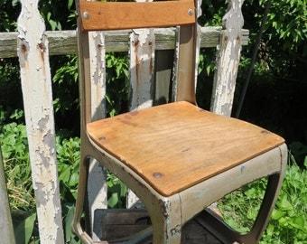Vintage School Chair.
