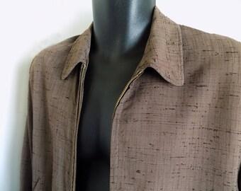 Vintage 50s Flecked (slubs)  Jacket - Sport Pal by Royal Men's Sportswear - Rockabilly /Jive / Lindy Hop / VLV / RnR /Elvis /Ricky