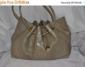 Spring Clearence Vintage Leather Handbag~Brahmin~ Brahmin Bag~ Made in the USA~ Excellent Condition~