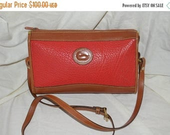 On Sale Dooney & Bourke~Dooney Bag~ Shoulder Bag~ USA Made Cross Body~Red Dooney  Bourke