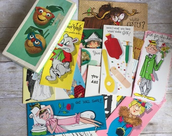 Vintage Cards - Birthday - Anniversary - Baby - Get Well Soon - All Occasion Assortment