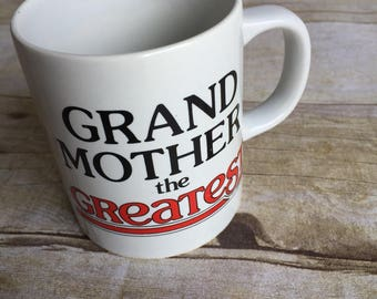 Retro Mug - Greatest Grandma Cup - Frog