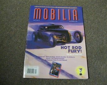 Mobilia Automobile Collectibles September 1996 Magazine Buy Sale Trade Collect RARE Collectors Find Articles Photos Values From Years Past